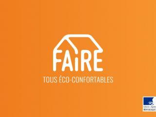 Lancement d'une campagne pour FAIRE de la rénovation énergétique