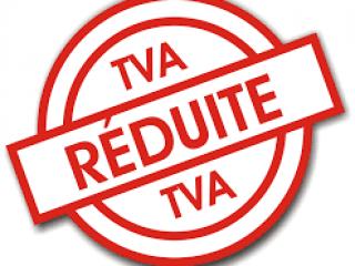 Le taux de TVA réduit à 5,5 % maintenu en 2019